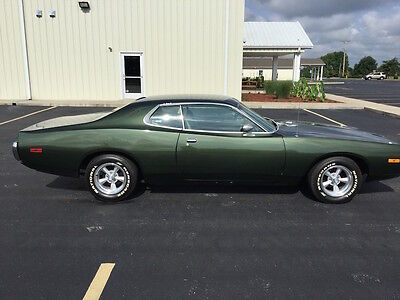 1973 Dodge Charger  73 Dodge Charger. 2dr HT. Rebuilt #'s matching motor, dual exhaust, headers.