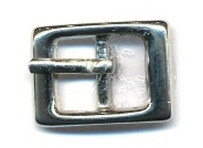 x10 buckle silver tone (nickle) 11mm fashion supply brand new