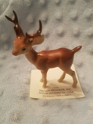 Hagen-Renaker Mini #189 PAPA DEER - Miniature Ceramic Buck Figurine