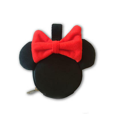 NEW Disney Baby Minnie Mouse Pacifier Pouch - Black