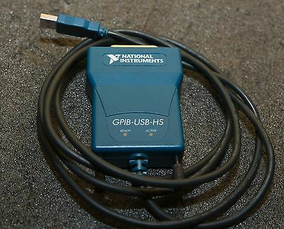 National Instruments GPIB-USB-HS - Tested