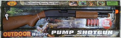 Toy Gun  Pump Action Shotgun - Battery Op Ejecting Shells Realistic Sounds