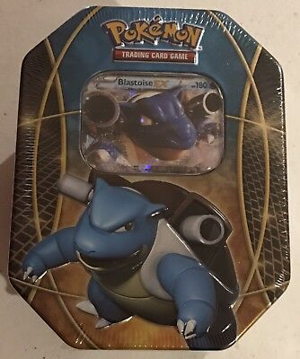 Pokemon TCG Blastoise EX Power Trios Tin