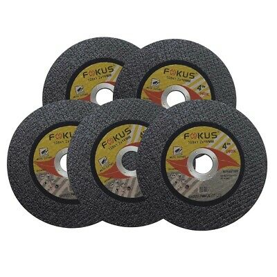25 Pack Ultra Thin Disc 4'' x 1/16'' Metal & Stainless Steel Cut Off Wheels