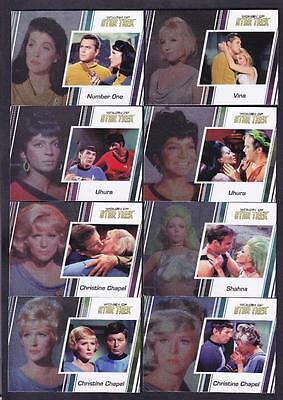 2017 WOMEN OF STAR TREK 50th ANNIVERSARY BASE SET