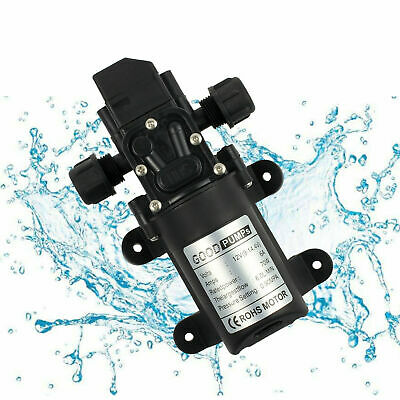 12V Water Pump 130PSI Self Priming Pump Diaphragm High Pressure Automatic Switch