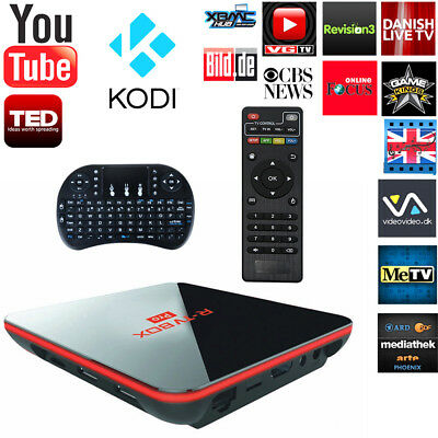 Quad Core Android Lollipop TV Box Fully Load 4K HD Media Player &Gift Keyboard