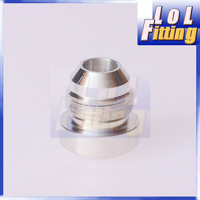 AN-10 AN10 Male Aluminium Weld On Plug Fitting Round Base
