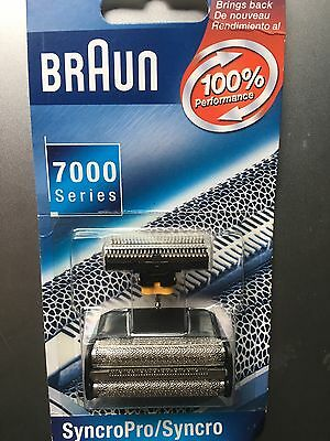 BRAUN 7000  Series SyncroPro/Syncro Foil and Cutter Set. NEW