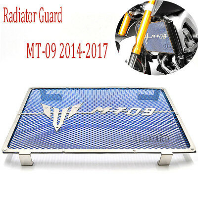 Motor Radiator Guard Grille Cover Protector For Yamaha MT09 FZ-09 2014-2017 Blue