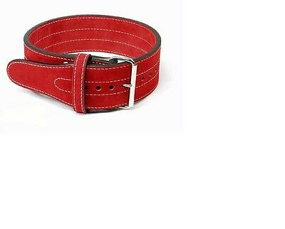 Inzer 1 Prong Belt rot / red  / rouge 10 mm