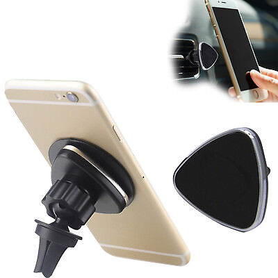 360° Universal Magnetic Car Mount Air Vent Holder Stand For GPS PAD Mobile phone