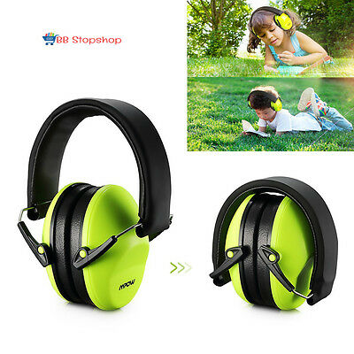 Ear Protection For Kids Mufs Shooting Noise Protectors Children Adjustable Green
