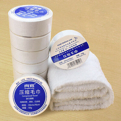 Compressed Towel Magic Outdoor Travel Wipe Soft Cotton Expandable Just Add Water