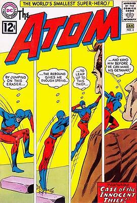 ATOM ISSUE 4 1st SERIES AMERICAN COMIC BY DC + FREE & FOIL BALLOON