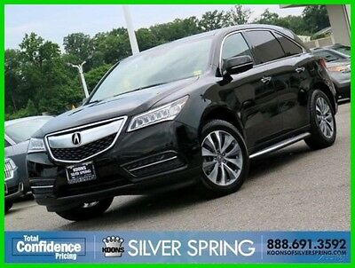 2014 Acura MDX 3.5 Technology 2014 3.5 Technology Used 3.5L V6 24V Automatic AWD SUV Premium Moonroof