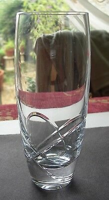 "Nice Single Louise Kennedy Tipperary Crystal Sea Aster Cut 6"" Highball Tumbler"