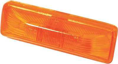 TRUCK LITE CO INC 19200Y Clearance/Marker, Rectangle, Yellow