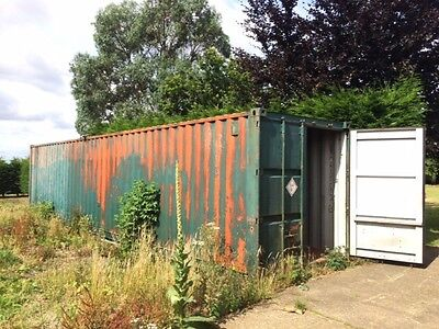 40Ft Shipping Container - No reserve