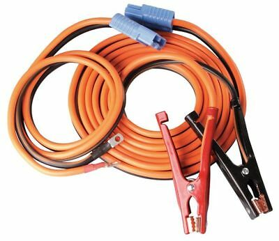 WESTWARD 5RXF5 Booster Cable, SD, 4 AWG, 25 Ft, 400 Amp