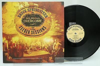 """Springsteen 2 LP """"We shall overcome"""", VG+"""