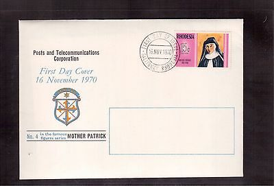 Rhodesia 1970 First Day Cover #302, Mother Patrick !!