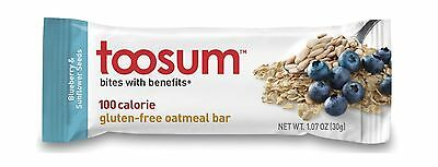Toosum Granola Bars Blueberry and Sunflower Seeds 60 Count