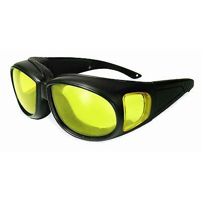 SSP 13219 Kachess AM A/F Unisex Safety Glasses/Amber Anti-Fog Lenses