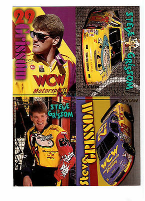 Steve Grissom Photocard,1996 National Sports Collectors Convention Anaheim !!