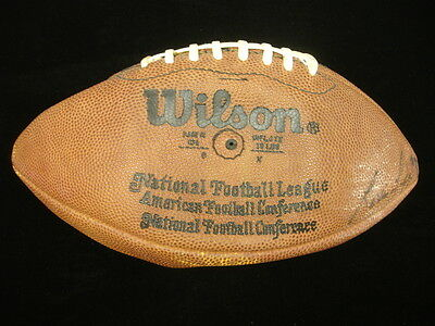 1980's Pittsburgh Steelers Game Ball - Noll, Green, Lipps Autographed!