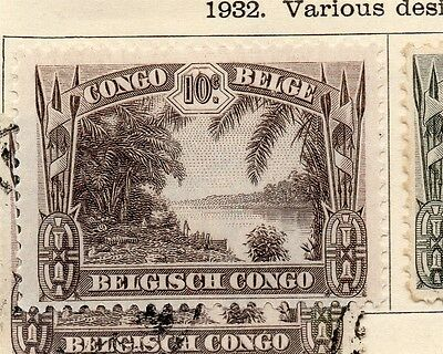 Belgian Congo 1932 Early Issue Fine Mint Hinged 10c. 182831