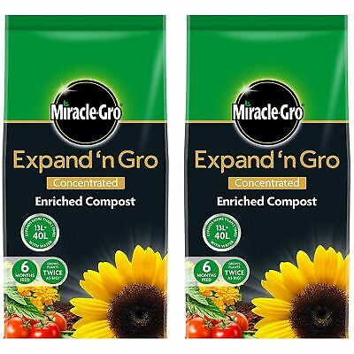Miracle-Gro Expand n GRO Concentrated Enriched Compost 26L Plants Potting Soil