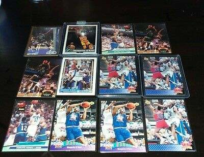 Shaquille O Neal Rookies Lot Of 11  Rare Cards Nice Nm Mn  Bid Now