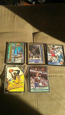 Shaquille O Neal Rookies Lot Of 5  Rare Cards Nice Inserts Nm Mn  Bid Now