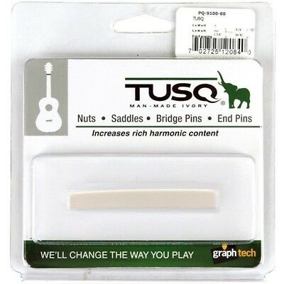 "Graph Tech Tusq Blank Saddle Martin® Guitars 3/32"" *new* Pq-9100-00"