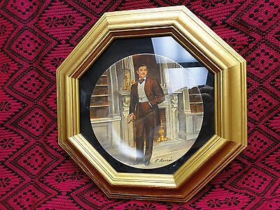 "Knowles Gone With The Wind Plate ""Rhett""  Plate #14420A"