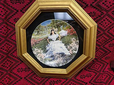 "Knowles Gone With The Wind Plate ""Scarlett""  Plate #18106B"