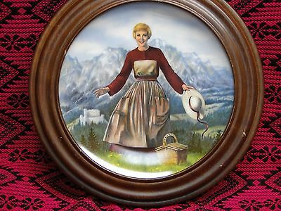 The Sound Of Music Collectors Plate With Certificate -- Edwin Knowles 1986