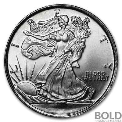 Silver - 1/10 oz Walking Liberty Round