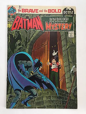 The Brave And The Bold #93 DC 1970 Batman/House Of Mystery Neal Adams FINE COPY