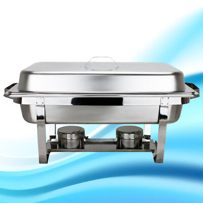 STAINLESS STEEL CHAFER CHAFING DISH SETS FULL SIZE BUFFET Catering Classic Gifts