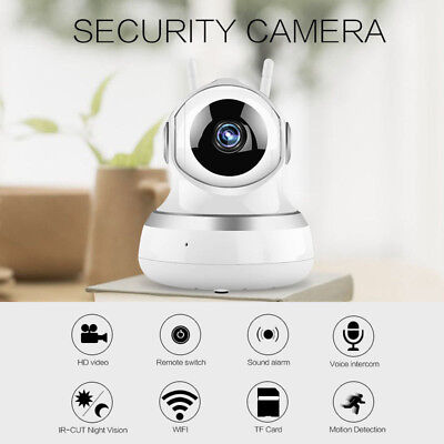 Wireless WIFI HD 1080P IP Camera Outdoor Home Security Night Vision Audio CCTV x