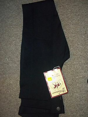 Mens Horse Riding Pants Jodhpur Breeches Black ,size M32, Australian  made