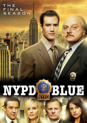 NYPD BLUE: Season Twelve 12, FINAL SEASON (DVD, 2017, 5-Disc Set) NEW
