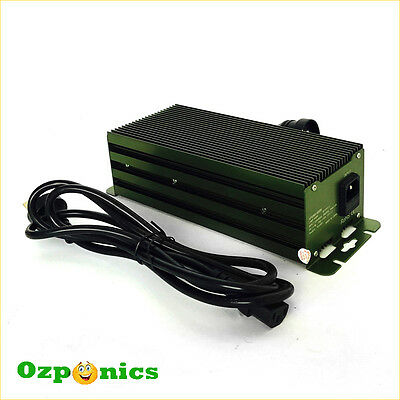 2 x DIGITAL BALLAST HYDROPONICS 600w DIMMABLE ELECTRONIC MH/HPS LIGHTING
