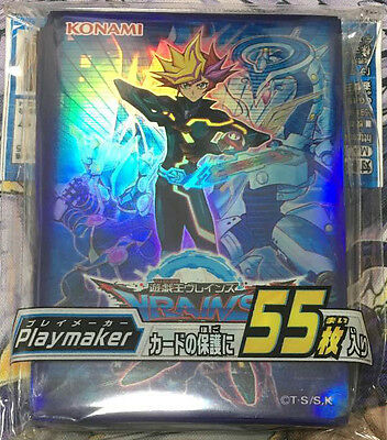 26482 Yugioh Yu-Gi-Oh Duel Monsters Card Protector Card Sleeve(55)  Playmaker