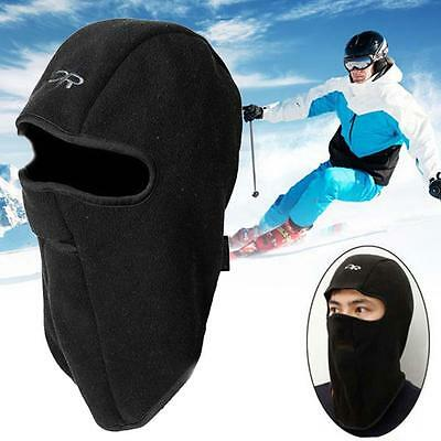 Motorcycles Thermal Fleece Balaclava Neck Winter Ski Full Face Mask Cap Cover TH
