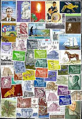 Irlande - Eire 600 timbres différents