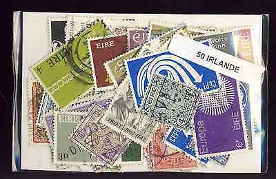 Irlande - Eire 50 timbres différents