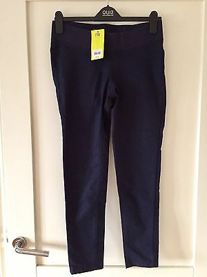 Mothercare Maternity Jeggings Navy Size 10S under bump jeans
